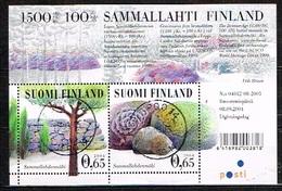 FINLANDE - Oblitérés / Used - 2004 - MICHEL Block 35