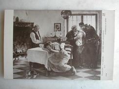 TABLEAUX - Salon De Paris 1912 - F.C. BAUDE - Départ Pour La Guerre - Peintures & Tableaux