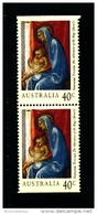 AUSTRALIA - 1994  40c. CHRISTMAS  PAIR FROM BOOKLET MINT NH - Nuovi