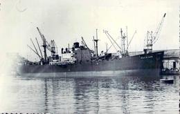 """Reproduction C P A  Bateau Identifié """" Ville Du Havre """" Nochap Liberty Construit En 1944 Houston Texas - Commerce"""