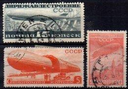 RUSSIE - 3 Valeurs Oblitérées De 1931 TB