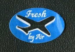 # FRESH BY AIR Fruit Label, Etichette Etiquettes Etiquetas Sticker Adhesive Air Airplane Flight Par Avion - Fruits & Vegetables