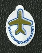# MANGO RODEO FRESH BY AIR Fruit Label, Etichette Etiquettes Etiquetas Sticker Adhesive Air Airplane Flight Par Avion - Fruits & Vegetables
