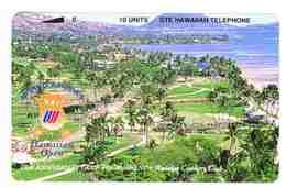 TK 8505 HAWAII - Golf  Back : Bronze Hawaiian Telephone MINT ! - Hawaii
