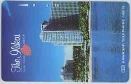 TK 8508 HAWAII - The Ilikai Back : Bronze Hawaiian Tel MINT ! - Hawaii