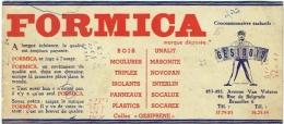 Buvard : Formica. Gesibois, Bruxelles - Buvards, Protège-cahiers Illustrés