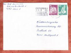 Brief, MiF Industrie + Technik, Kleve Nach Stuttgart 1976 (34713) - Covers & Documents