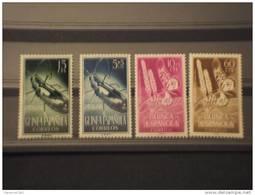 GUINEA SPAGNOLA - 1953 INSETTI 4 Valori -  NUOVI(++)-TEMATICHE - Guinea Espagnole