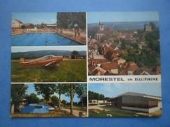 38-MORESTEL Vues Diverses , écrite Au Verso En 1971 - Morestel