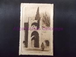 """Cahors Porte St Michel  """" Eau Forte Par CH Jaffeux """" Carte Papier Gaufré - Cahors"""