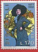Italia 1977; Dina Galli Attrice, Centenario Della Nascita. - 6. 1946-.. Republik