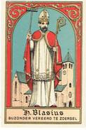H. BLASIUS - Neo-gotisch Prentje / Image Néo-gothique - ZOERSEL - Edit. Hutsebaut - Andachtsbilder