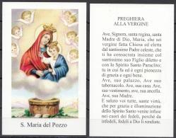 Madonna : S. Maria Del Pozzo - Devotieprenten