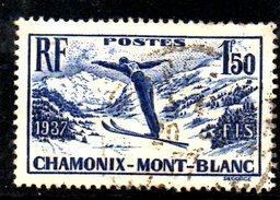 XP1885 - FRANCIA 1937 N. 334 . CHAMONIX - Francia