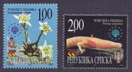 Bosnia Serbia 2000 European Nature Protection, Flora And Fauna, Set MNH - Bosnia And Herzegovina