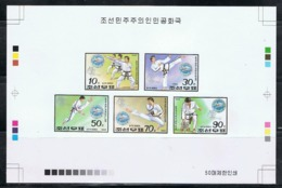 NORTH KOREA 1992 RARE PROOF OF 8TH WORLD TAEKWON-DO CHAMPIONSHIP SET