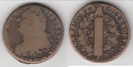 **** 2 SOLS 1792 - LOUIS XVI ROI DES FRANCOIS - CONSTITUTION **** EN ACHAT IMMEDIAT !!! - 1789 – 1795 Monedas Constitucionales