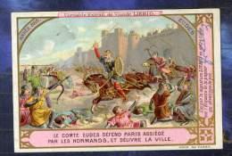 CHROMO LIEBIG S429 S 429 HISTOIRE Comte Eudes Paris Assiégé Par Normands - Liebig
