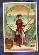 Chromo Liebig S301 Paquebot Liner Femme Woman Croisiere Victorian Trade Card - Liebig