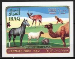 IRAQ / IRAK - 2001 - BLOC N° 86 ** ANIMAUX - Iraq