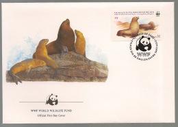 Chili - 1984 - N°Yv. 177 - Loups De Mer - FDC - WWF