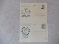 Entier Postal 2000 Stampilou, Barelli Bd - Werbepostkarten