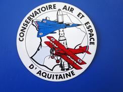 AUTO COLLANT CONSERVATOIRE AIR ET ESPACE D'AQUITAINE - Advertising