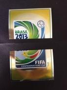 FIFA CONFEDERATIONS CUP BRAZIL 2013  - N° 02 SCUDETTI PANINI - - Panini