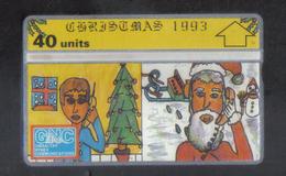GIBRALTAR - CHRISTMAS 1993 RARE PHONECARD