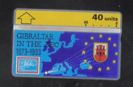 GIBRALTAR - 1993   RARE PHONECARD