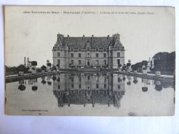 CPA (56) Morbihan -Environs De Guer - Monteneuf - Château De La Grée De Calac, Façade Ouest - Guer Coetquidan