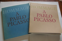 Hommage à PABLO PICASSO. 2 Tomes - Art