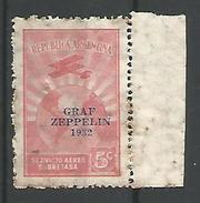 Graf Zeppelin 5c Rojo - Airmail