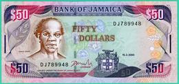 50 Dollars - Jamaïque - 15.3.2000 - N° DJ789948 - Neuf - - Jamaica