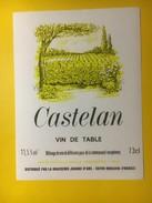 3340 - Castelan Vin De Table - Blancs
