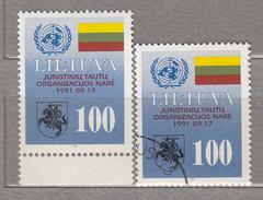 LITHUANIA 1992 MNH / Used (**/o) UNO Mi 495 Read #20922 - Lithuania