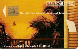 CARTE-PUCE-PRIVEE-PUBLIC- 50U-SO3--EN 364-04/92-SATAS  92-UTILISE-TBE - France