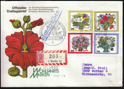 Germany Berlin 1974 / Wohlfahrtsmarken / Flowers - Pflanzen Und Botanik
