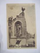 CPA CRECY Sur SERRE : Monument Aux Morts Et Rue Du Grand Four 19.. B.E. Voir Scan - Other Municipalities