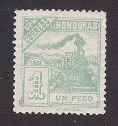 Honduras, Scott #110, Mint Hinged, Railroad Train, Issued 1898 - Honduras
