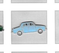 Pin´s  Automobile  RENAULT  FLORIDE  Bleu  Clair ? - Renault