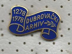 ARCHIVES OF DUBROVNIK (Croatia) Yugoslavia / Archive Archiv Archivio Archivo - History Histoire Historia - Administrations