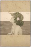 Portrait De Femme - Illustrateur RAPHAEL KIRCHNER - Kirchner, Raphael