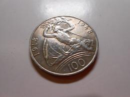 Tschechoslowakei  100Kronen 1948  Silber - Vz - Tchécoslovaquie
