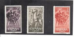 Sahara - Edifil 217-19 - Yvert 203-05 (MNH/**) - Sahara Español