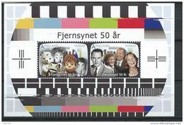 Norvège,  2010 Bloc  N°41 Neuf Cinquantenaire De La Télévision