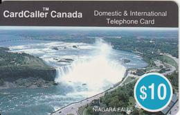 CANADA - Niagara Falls, CardCaller Prepaid Card $10, 08/96, Used