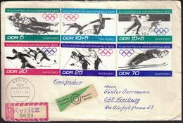 Germany Kyritz 1971 / Olympic Games Sapporo 1972