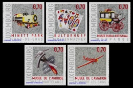 Luxembourg 2016 Mih. 2113/17 Local Museums MNH **