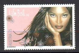 Austria 2006 LIFE BALL - Naomi Campbell MNH ** - 1945-.... 2. Republik
